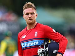 Watch England's Jason Roy Being Given Out For Obstructing The Field