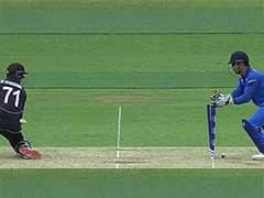 Dhoni's Magical Glove-Work Behind The Stumps Will Leave You Stunned