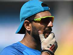 Worry For India As Yuvi Skips Training Ahead Of Champions Trophy Warm-Up