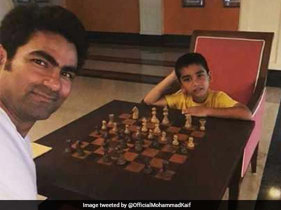 Mohammad Kaif Posts Picture Of Playing Chess With Son, Gets Trolled