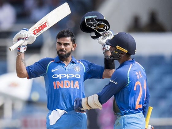 Watch Virat Kohli's Animated Celebration After Scoring Record Ton