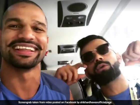 Kohli, Dhawan 'Pump It Up' Ahead Of CT Warm-Up Match