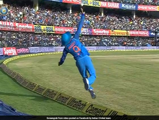 Watch: Manish Pandey Plucks Out A Stunner On Boundary