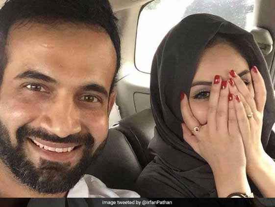 Irfan Pathan, Trolled After Posting Photo With Wife, Says This
