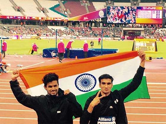 World Para Athletics: Sharad Wins Silver, Varun Bags Bronze