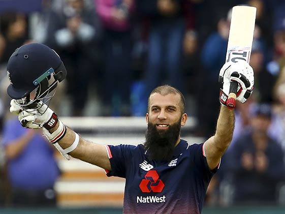 3rd ODI: Moeen Ali's Ton Sets Up England's Win Over West Indies