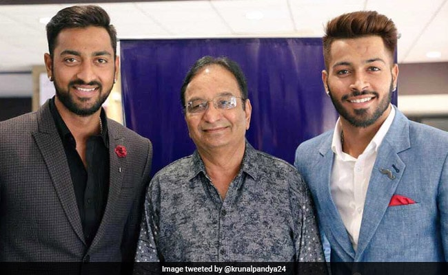 Pandya Brothers Surprise Father With A Gift. His Reaction Is Priceless