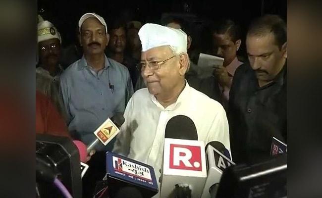 राष्ट्रपति चुनाव : नीतीश कुमार ने कहा, क्या बिहार की बेटी को हारने के लिए चुना गया है?