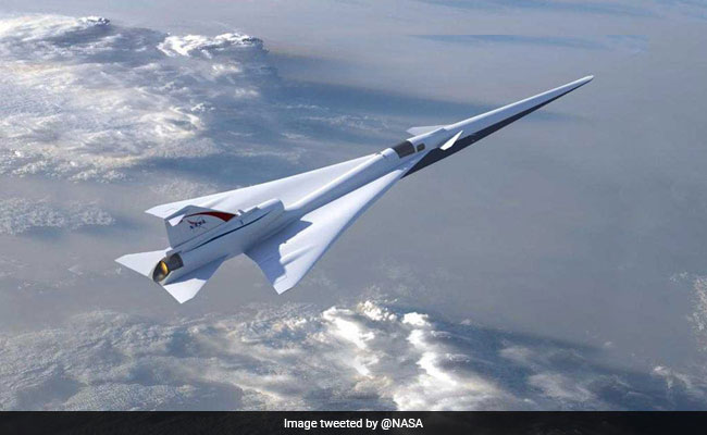 NASA's Quieter Supersonic Jet Closer To Reality. It's Called X-Plane