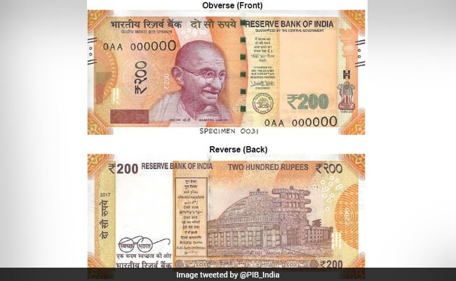 10 Features Of New Bright Yellow Rs.200 Note To Be Launched Tomorrow
