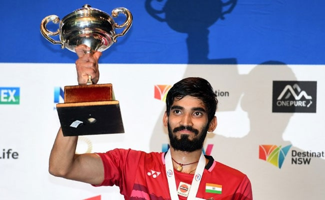 Srikanth Outclasses Olympic Champion To Win Australian Open Super Series
