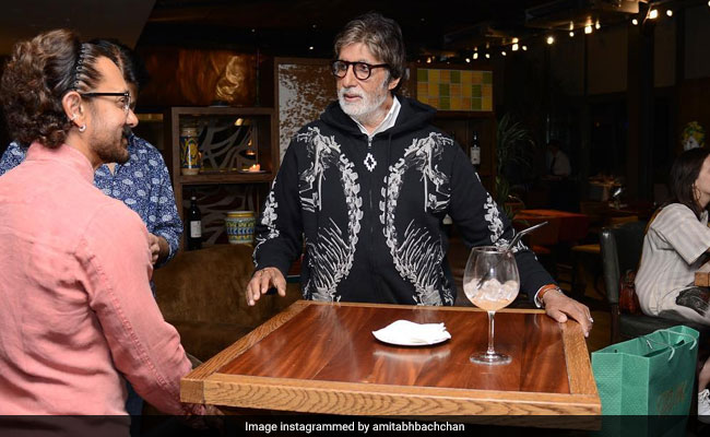 What Big B And Aamir Do When Not Shooting For Thugs Of Hindostan In Malta