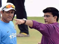 Sourav Ganguly Opens Up On Anil Kumble-Virat Kohli Rift