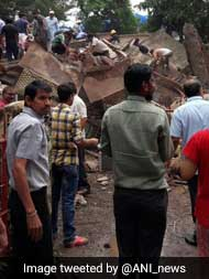 At Least 30 Feared Trapped In Mumbai Building That Collapsed