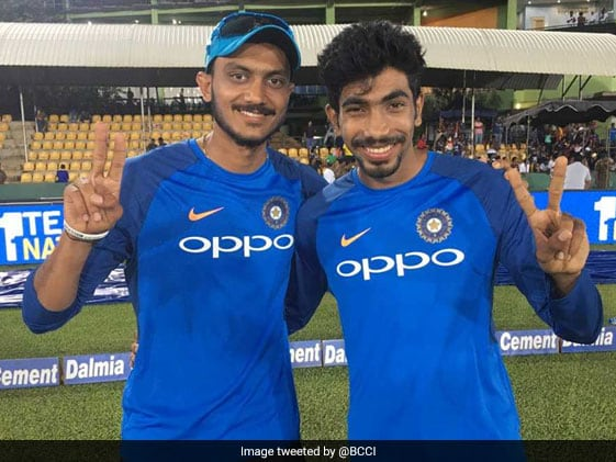 Watch How Axar Fared Against Bumrah's Verbal Yorkers
