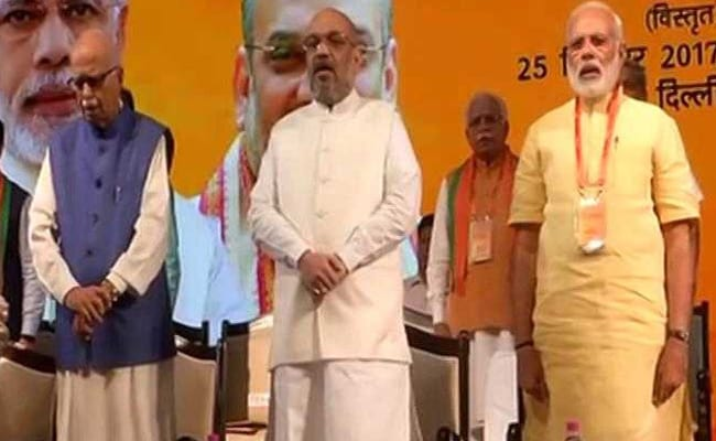 In Amit Shah's Speech At Top BJP Meet, A Dig At Rahul Gandhi: 10 Points