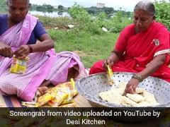100 पैकेटों की दादी मां ने बनाई मैगी... यह वीडियो आपकी भूख बढ़ा देगा