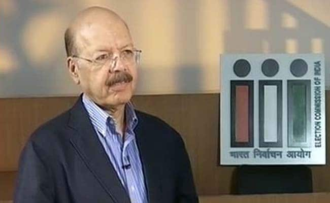 No Credible Evidence Of EVM Tampering So Far, Chief Election Commissioner Nasim Zaidi To NDTV: Highlights