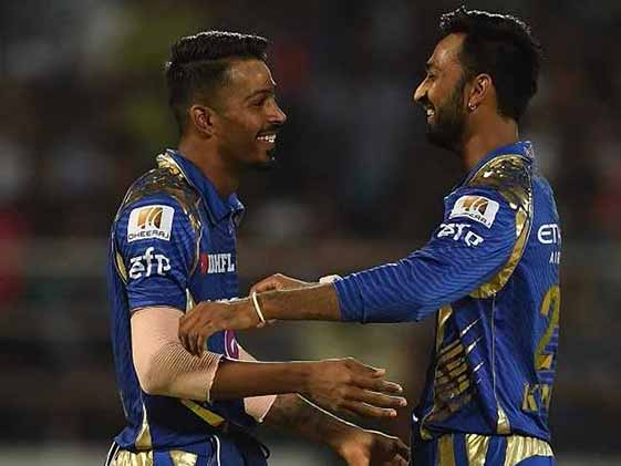 Pandya Brothers Surprise Father. His Reaction Is Priceless