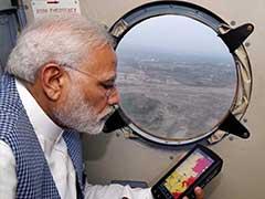 500 Crores Relief For Flood-Hit Gujarat, PM Announces After Aerial Survey