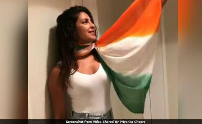 Priyanka, Why No Sari? Trolls Pounce On Independence Day Post
