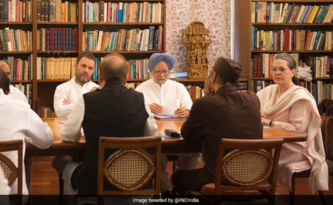 Crucial Congress Working Committee meet underway, to discuss presidential poll