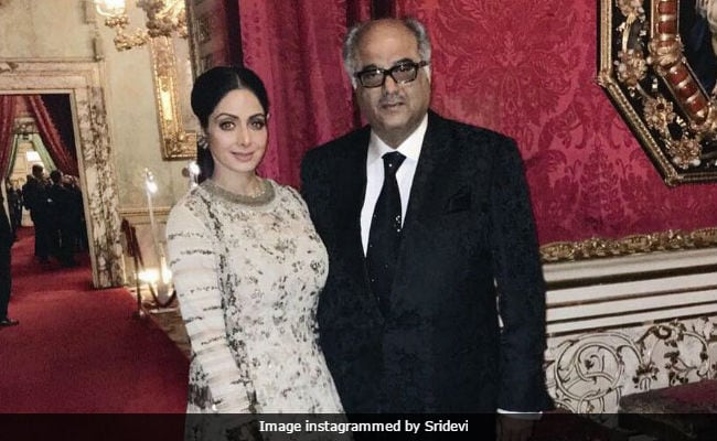 Sridevi Had 'Fair Share Of Fights' While Working With Boney Kapoor