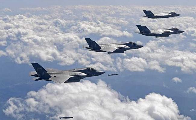 US Flies Stealth Fighters, Bombers Over Korean Peninsula In Show Of Force